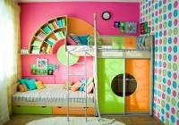 Современная детская комната, совмещенная с балконом