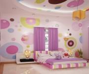 Современная детская комната совмещенная с балконом