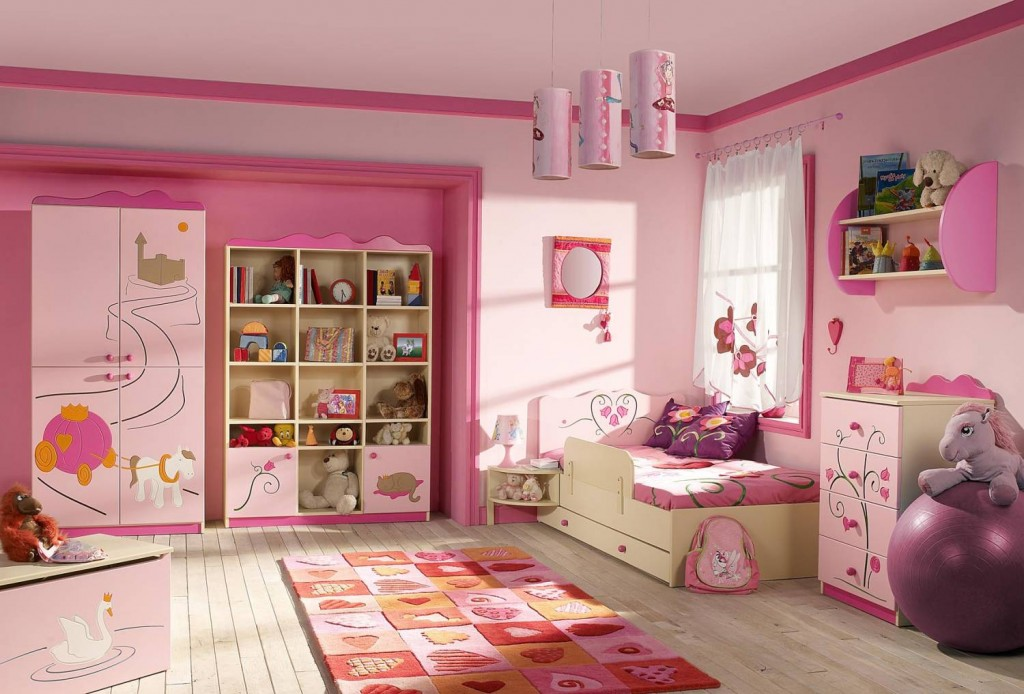 Комната для девочки 5 лет