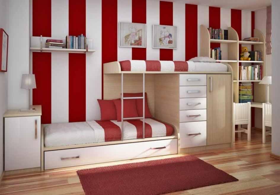 Спальня на двоих детей дизайн 84
