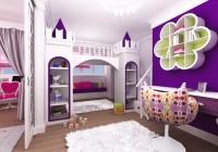 Детская в фиолетовых тонах