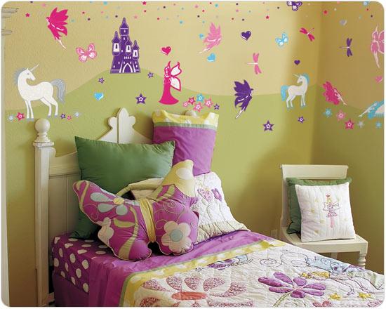 Как украсить комнату для девочки своими руками фото
