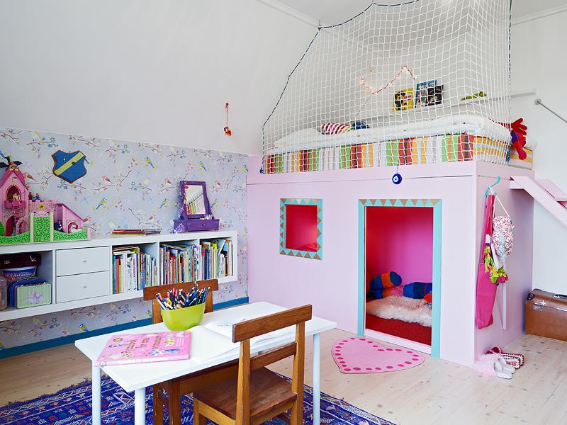 Детский игровой уголок в комнате своими руками 10