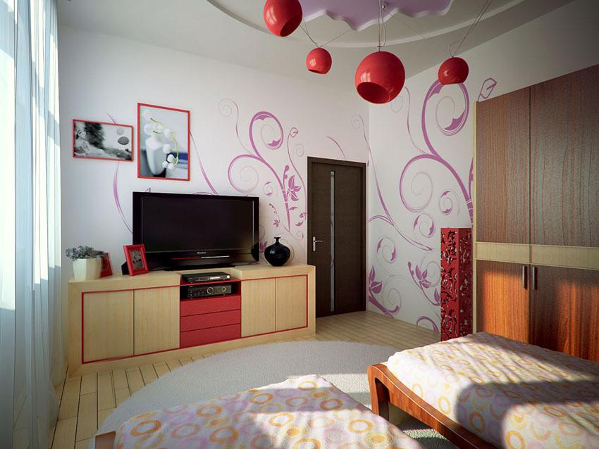 Детские комнаты в стиле модерн