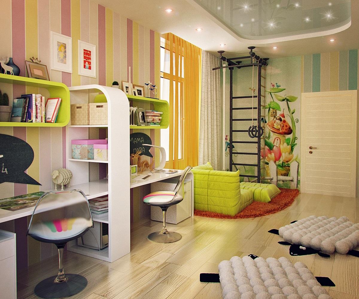 Как создать неповторимый стиль в детской комнате