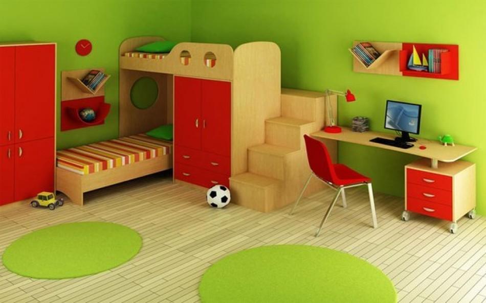 Дизайн детской комнаты для двух мальчиков  25 фото