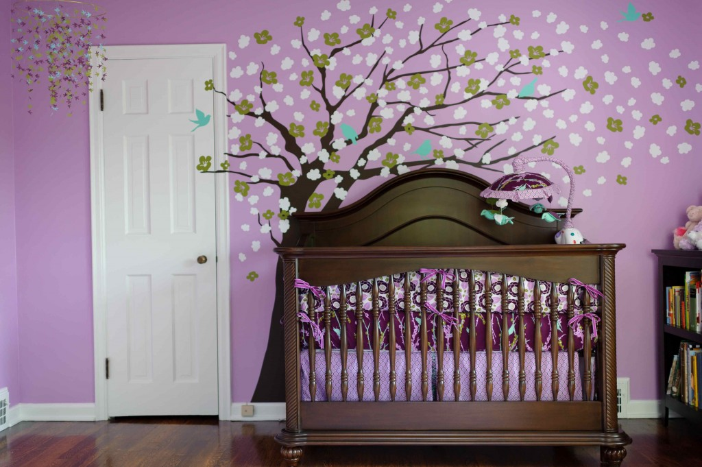 Дерево из ткани на стену