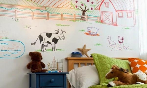 маркерная стена в детской