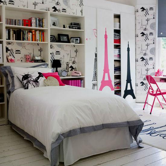 Детская комната в стиле Париж