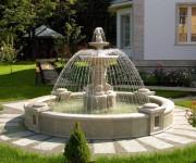 Декоративные фонтаны, водопады и водоемы