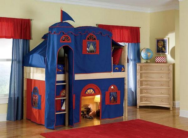Детские игровые домики для комнат4