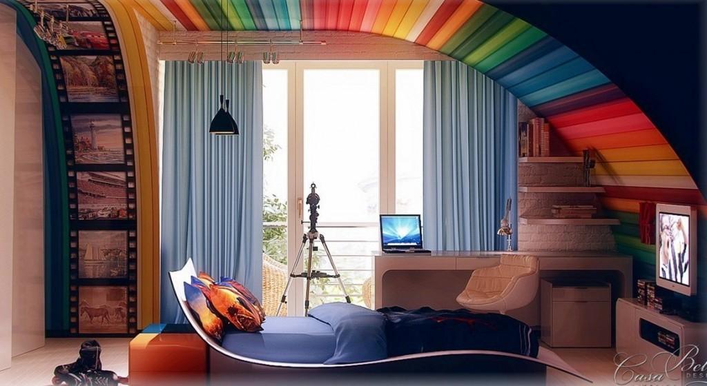 Интересные идеи декора детской комнаты