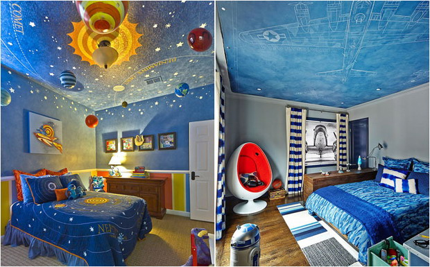 Интересные идеи декора детской комнаты10