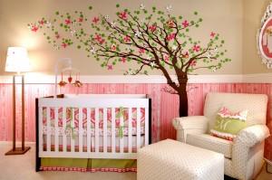 Интересные идеи декора детской комнаты4