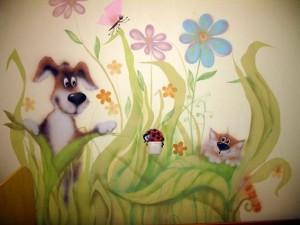 Интересные идеи декора детской комнаты7