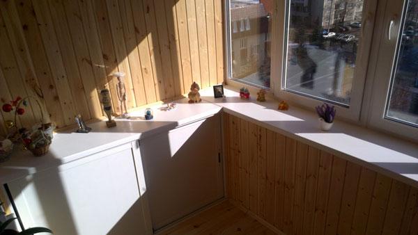 Остекление балконов и помещений