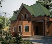 Фасад дома: облицовка фальш — панелями