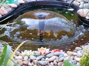 фонтаны для водоемов
