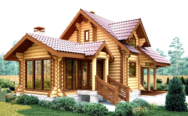 Срубовый дом