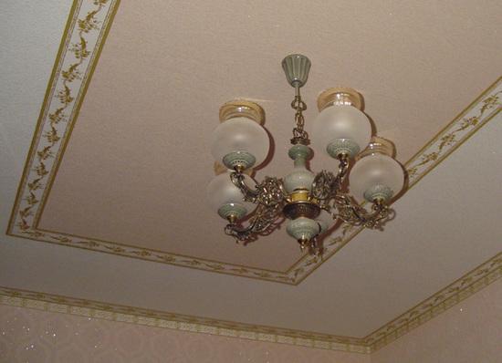 Виды отделок потолка