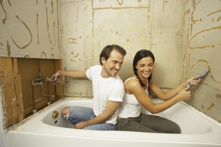 Ремонт своими руками в ванной комнате в хрущевке фото