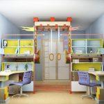 современный дизайн детских комнат