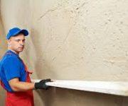 Штукатурка стен: гипсовый и цементный составы