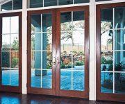 Легкие, но надежные алюминиевые двери