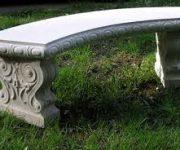 Устойчивость бетонных скамеек, как основное их преимущество