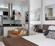 Как оформить и обустроить квартиру-студию?