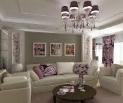 Как оформить интерьер в гостиной загородного дома