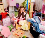 Соблюдение чистоты в детской комнате