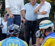 Виталий Кличко: «Мы приближаемся к открытию Киевского велотрека и тестируем работы по реконструкции полотна»
