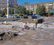 Киевский городской председатель проверил ход работ на Бабьем Яру