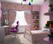 Интерьер и дизайн дамской комнаты для подростка