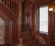 Маршевые лестницы из дерева