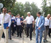 Работы по благоустройству в Бабьем Яру завершатся в сентябре