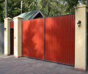 Распашные ворота как разновидность современных ворот