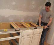 Установка кухонной мебели