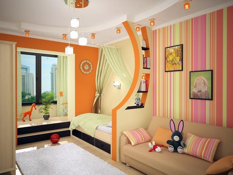 Дизайн детской комнаты для разнополых детей все тонкости.