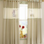 Дизайн штор для детской комнаты зависит от длины и формы крепления