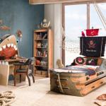 Интерьер детской комнаты для мальчиков фото, постеры, наклейки