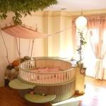Необычный интерьер детской комнаты малыша