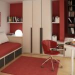 Подростковый интерьер маленькой детской комнаты фото