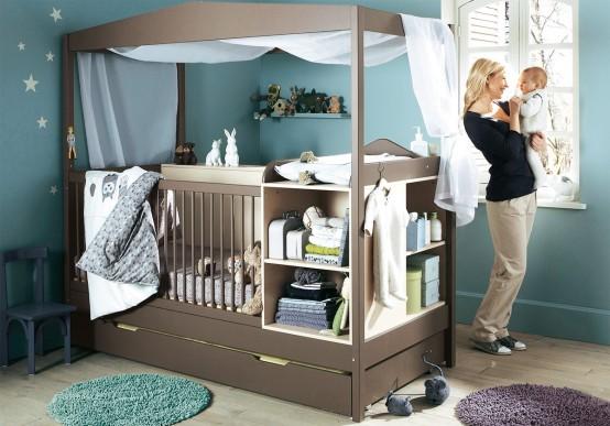 Создать интерьер детской комнаты, учитывая характер ребенка