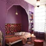 Восточный интерьер комнаты для девочки подростка