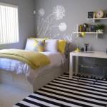 Воздушный интерьер детской комнаты для девочки подростка