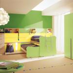 Зеленые обои для комнаты девочек