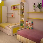 дизайн детской комнаты для разнополых детей фото