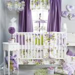 Английский дизайн шторы в детскую для девочки